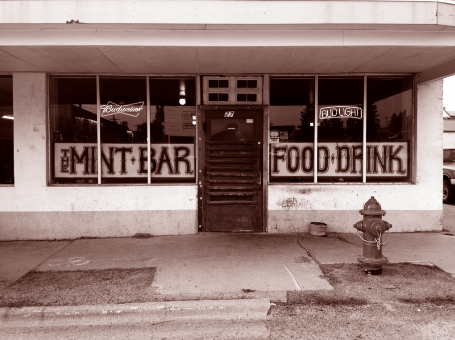 The Mint Bar, Main Street, White Sulphur Springs, Montana