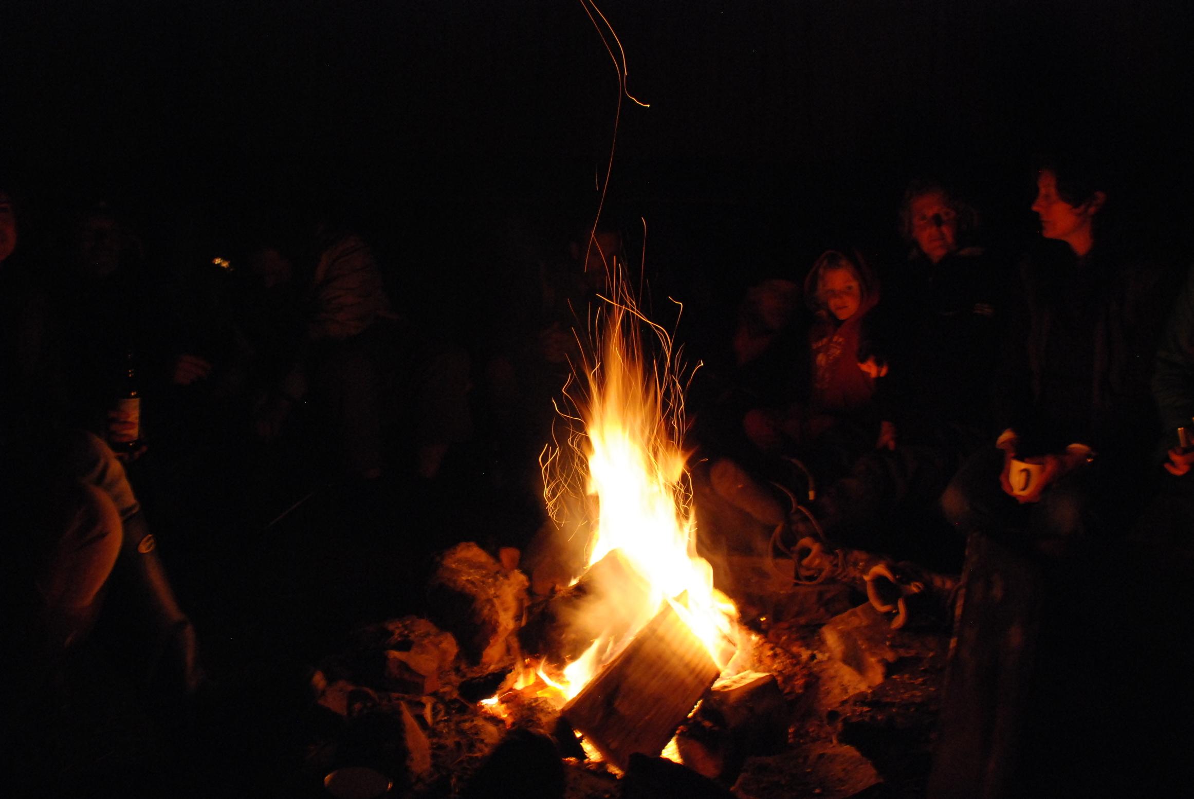 samhain-fire