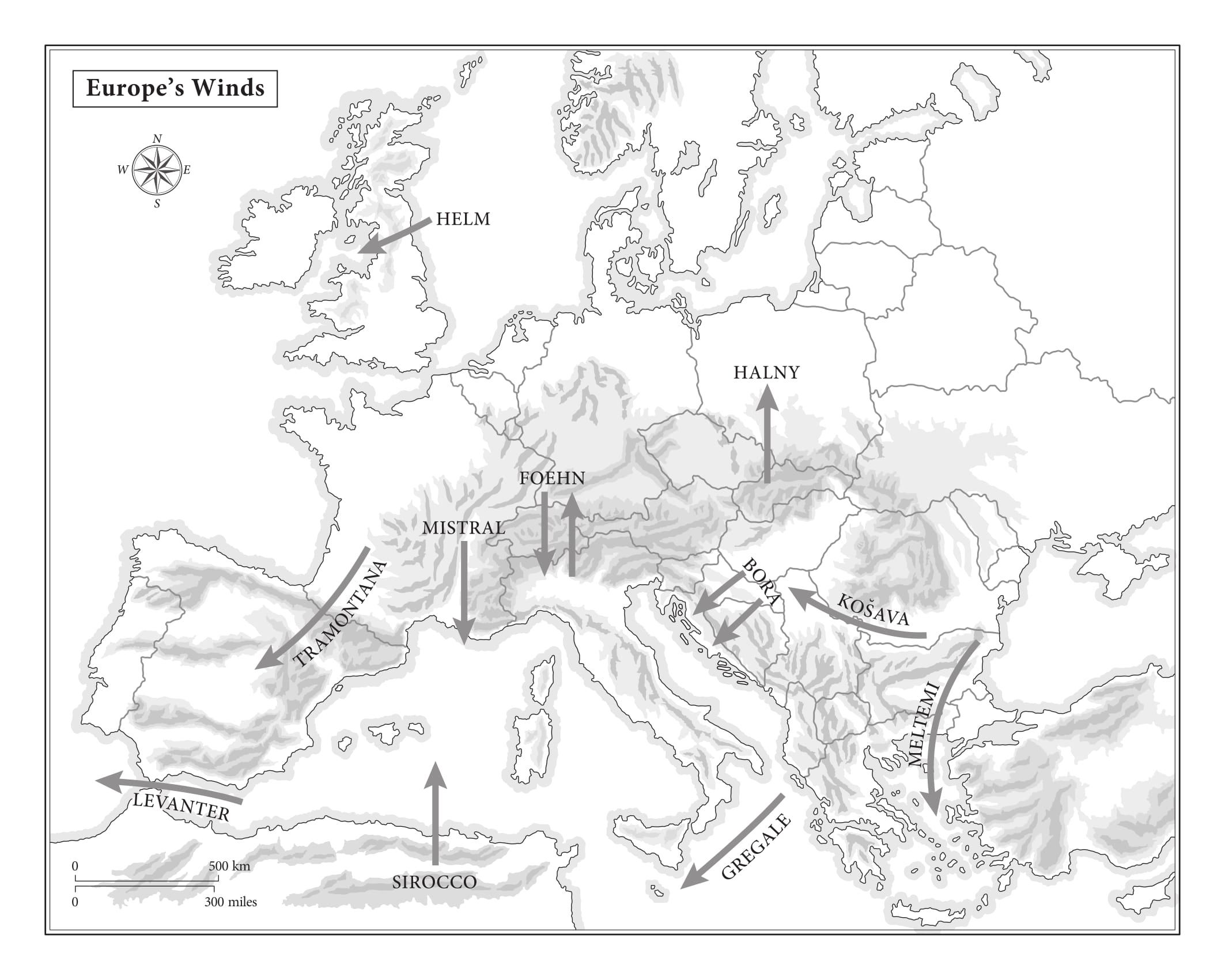 Map 1 Europe-1