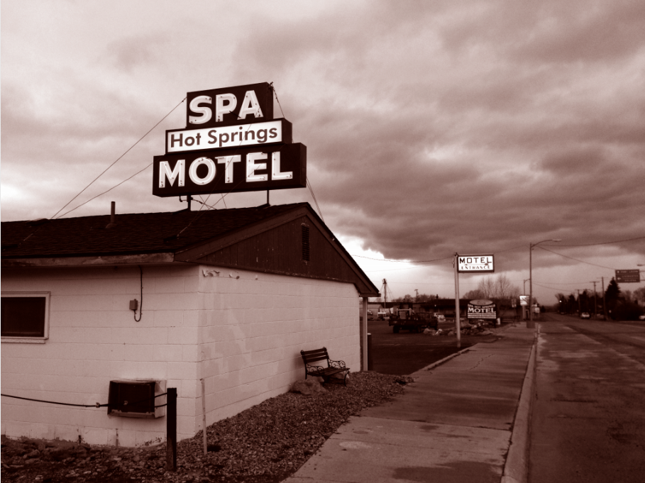 The Hot Springs Motel, White Sulphur Springs, Montana